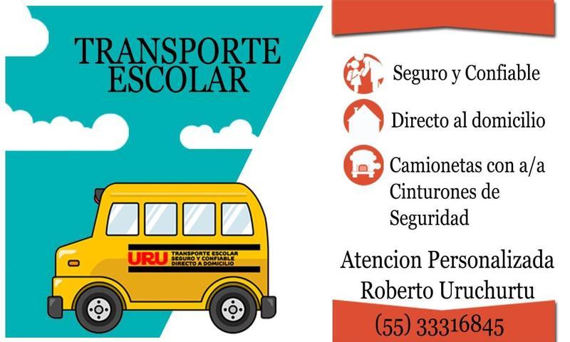 Transporte escolar Featured Photo