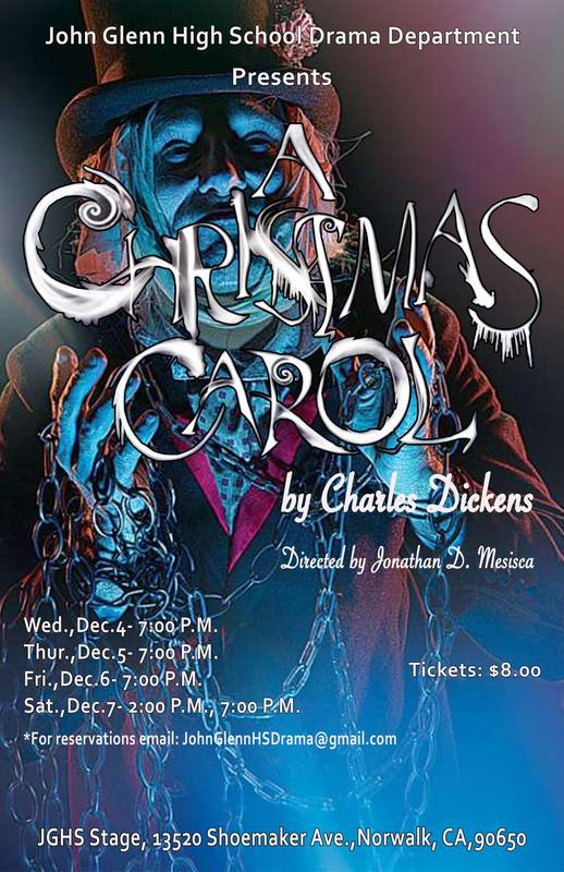 Don't Miss Drama's Production of A Christmas Carol Featured Photo
