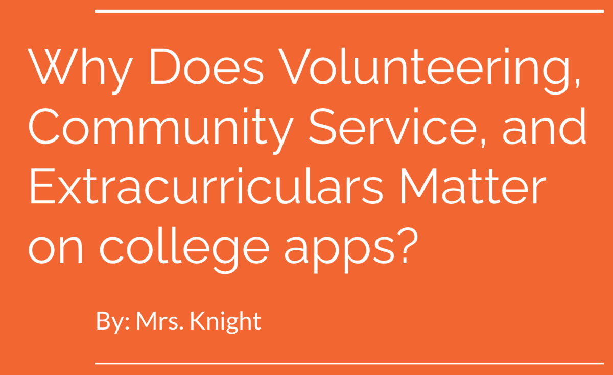 why volunteering matters
