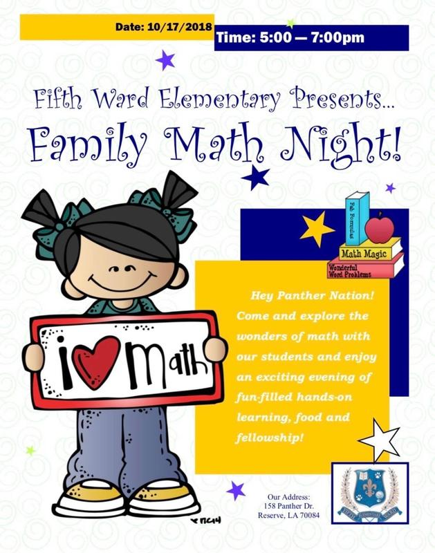Family Math Night Thumbnail Image