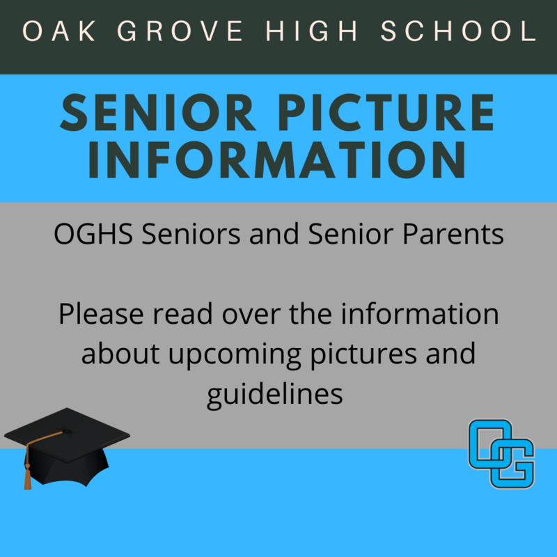 Senior Pictures Information