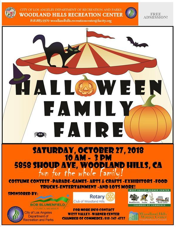 Woodland Hills Academy Art Will be Featured at the WH Halloween Family Faire! Thumbnail Image