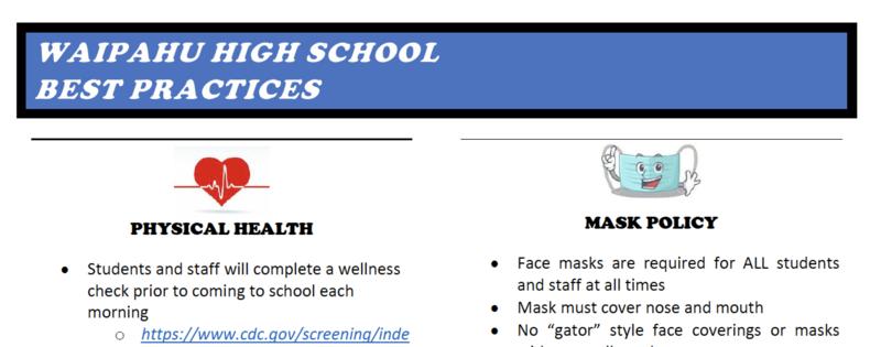 Clip shot of Best Practices Document