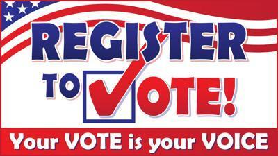 Register to Vote! Thumbnail Image