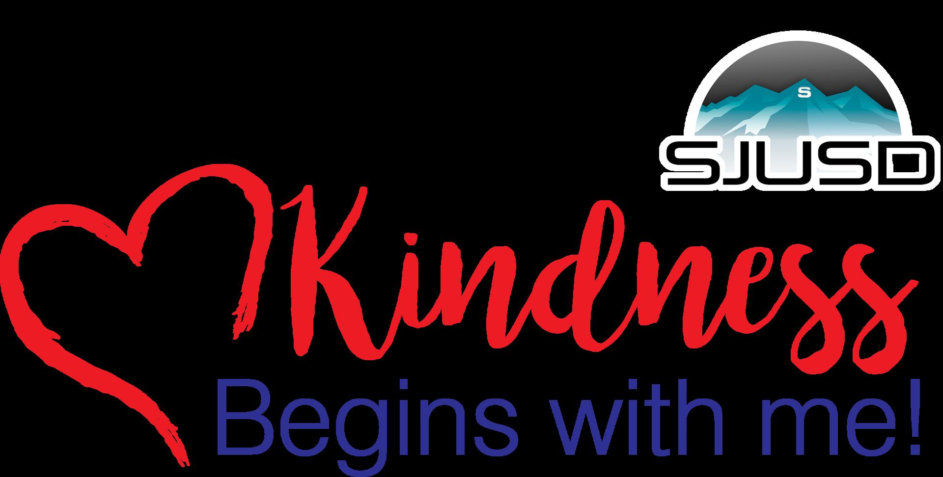 SJUSD Kindness Logo