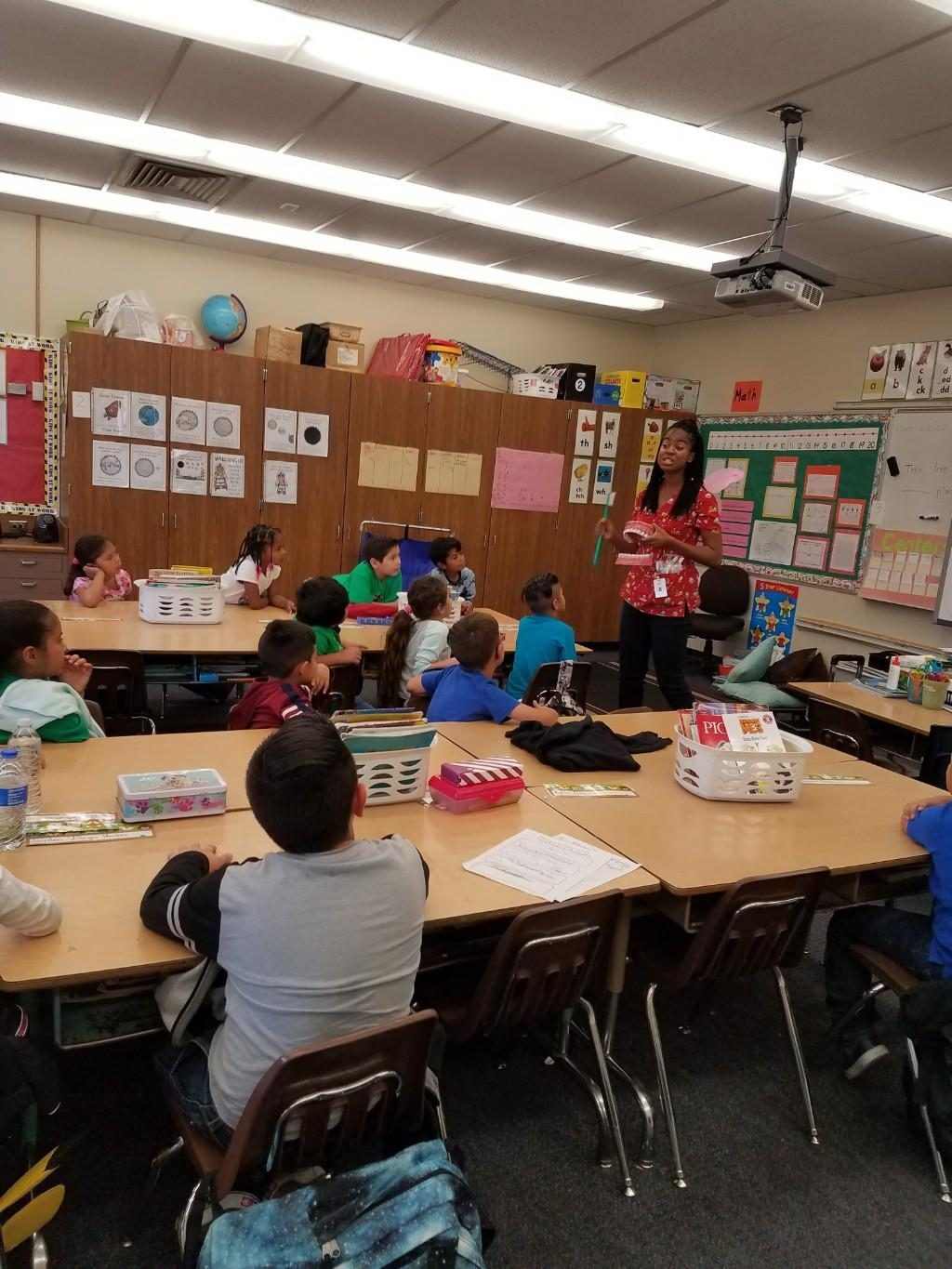 Tooth Fairy visits Armada students