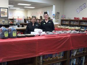 Olive Garden luncheon for Teacher Appreciation Week.