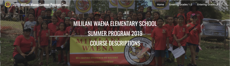 2019 Summer Program Featured Photo