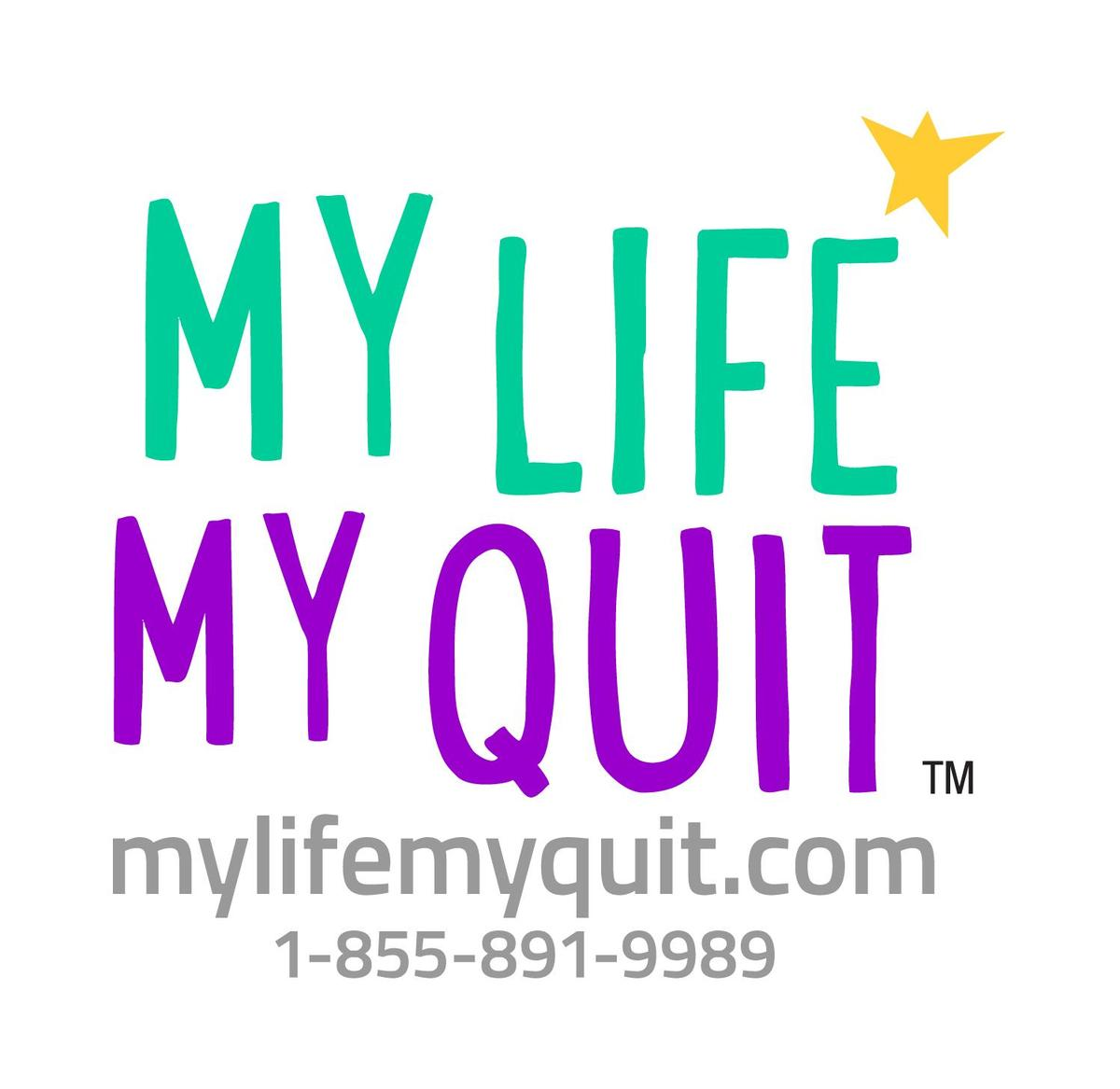 my life my quit logo