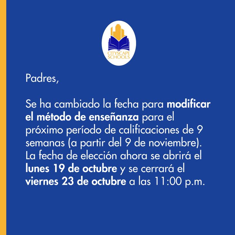 Mensaje en español