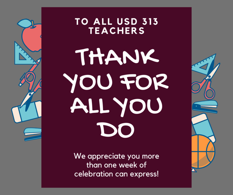 Thank you to our teachers! Thumbnail Image