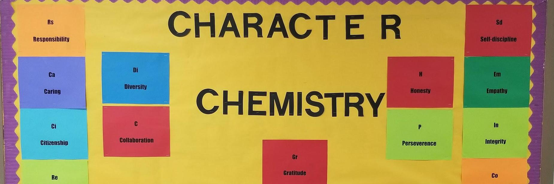 Character Ed Chemistry