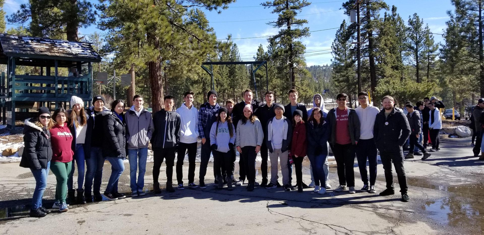 German Language Immersion Camp at Big Bear
