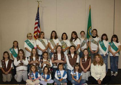 Joyce Girls Scout Troop