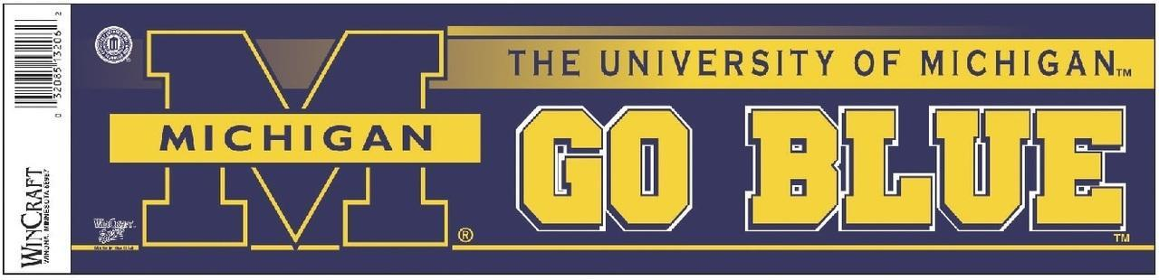 University of Michigan - GO BLUE!