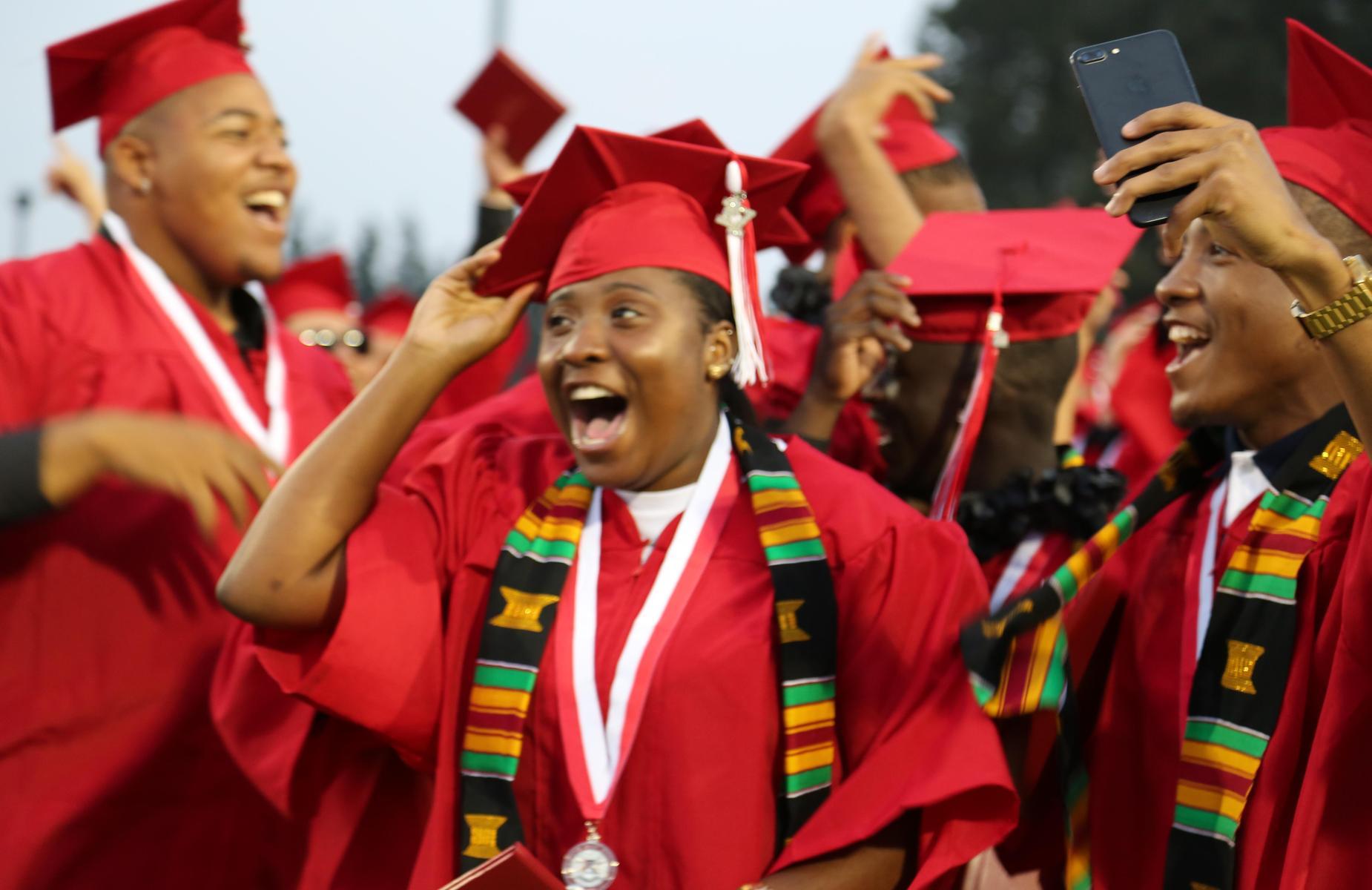 Pomona High School Graduates