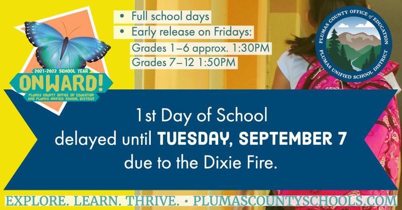 School delayed until 9-7-21
