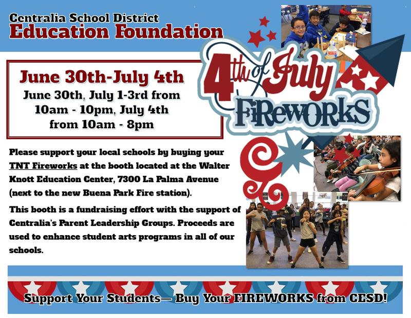 4th of July Flyer with sales starting June 30 to July 4