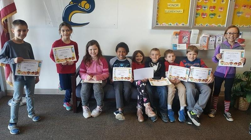 CONGRATS to our JANUARY Students of the Month! Featured Photo