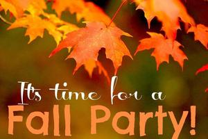 Fall Party Day information