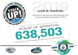 Stack Up Guinness World Record