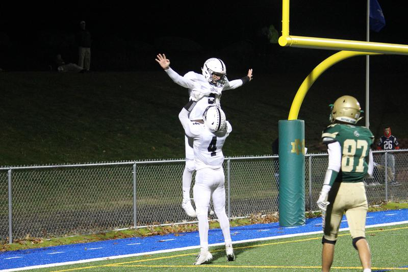 A critical catch for a TD ... and a celebration for the Xavier High School football team.