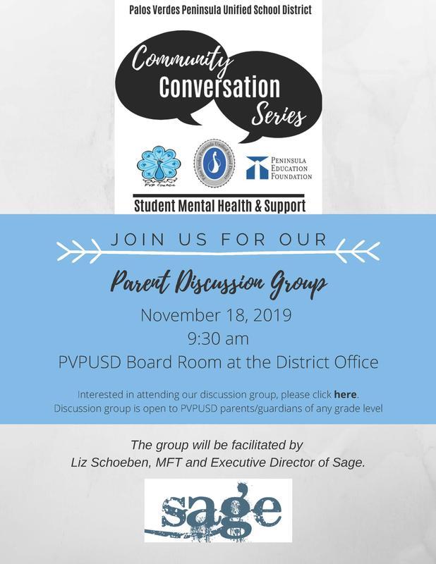 Parent Discussion Group