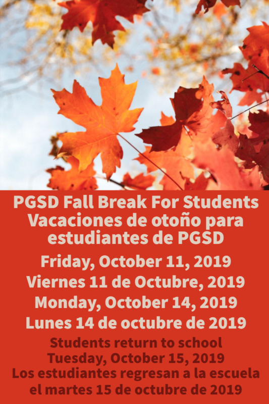 Fall Break Graphic