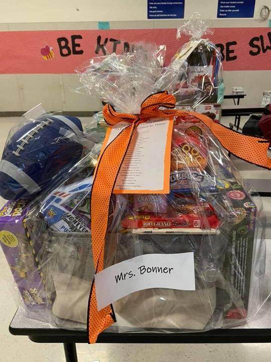Mrs. Bonner's Favorite Things Basket