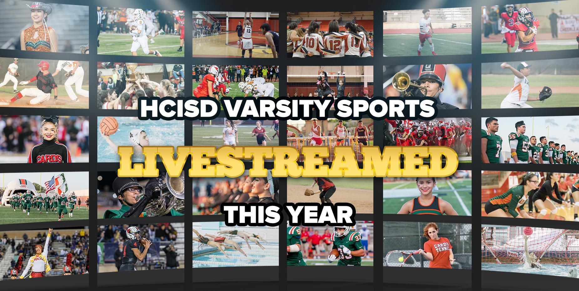 HCISD varsity sports will be livestreamed this year