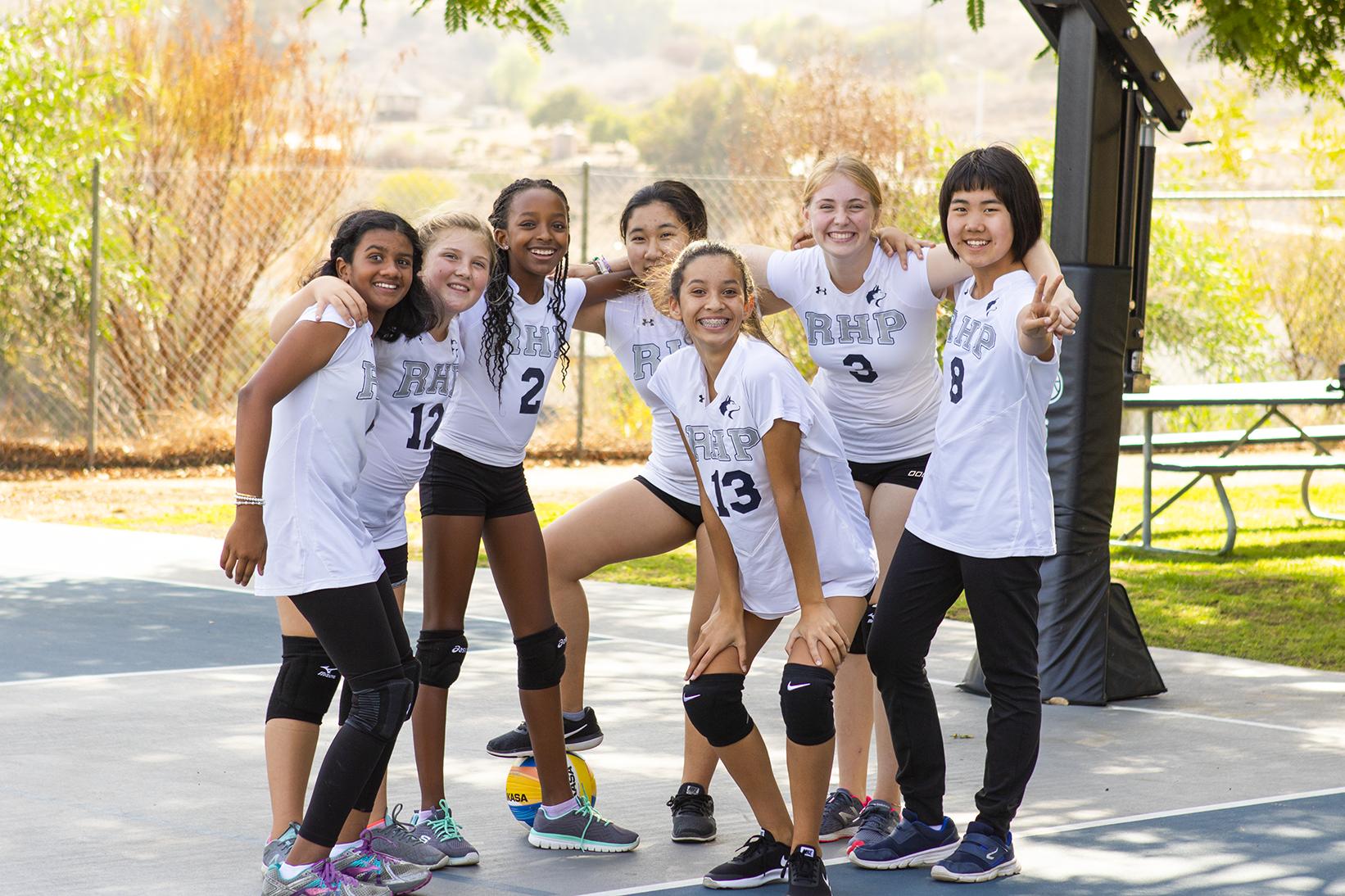 MS Girls' Volleyball