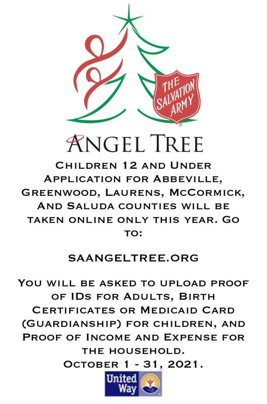 Salvation Army- Angel Tree Featured Photo