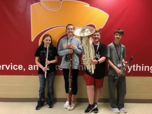 SCIBA Honor Band 2018