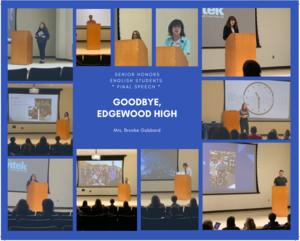 EHS final speeches