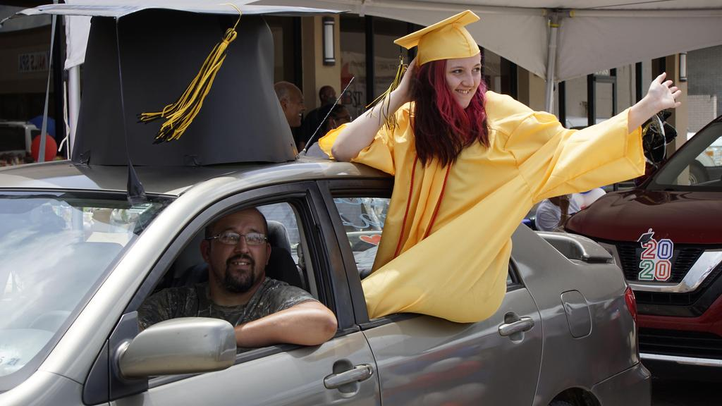 St. John the Baptist Parish Drive-through Graduation Celebration