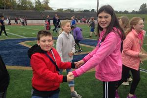 LINK partners hang out during Moovin for Moolah