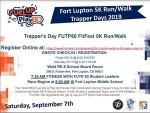 Trapper's Day 5K Run