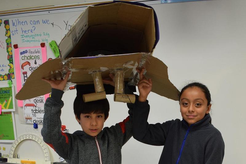 SE School hosts annual Cardboard Challenge Thumbnail Image