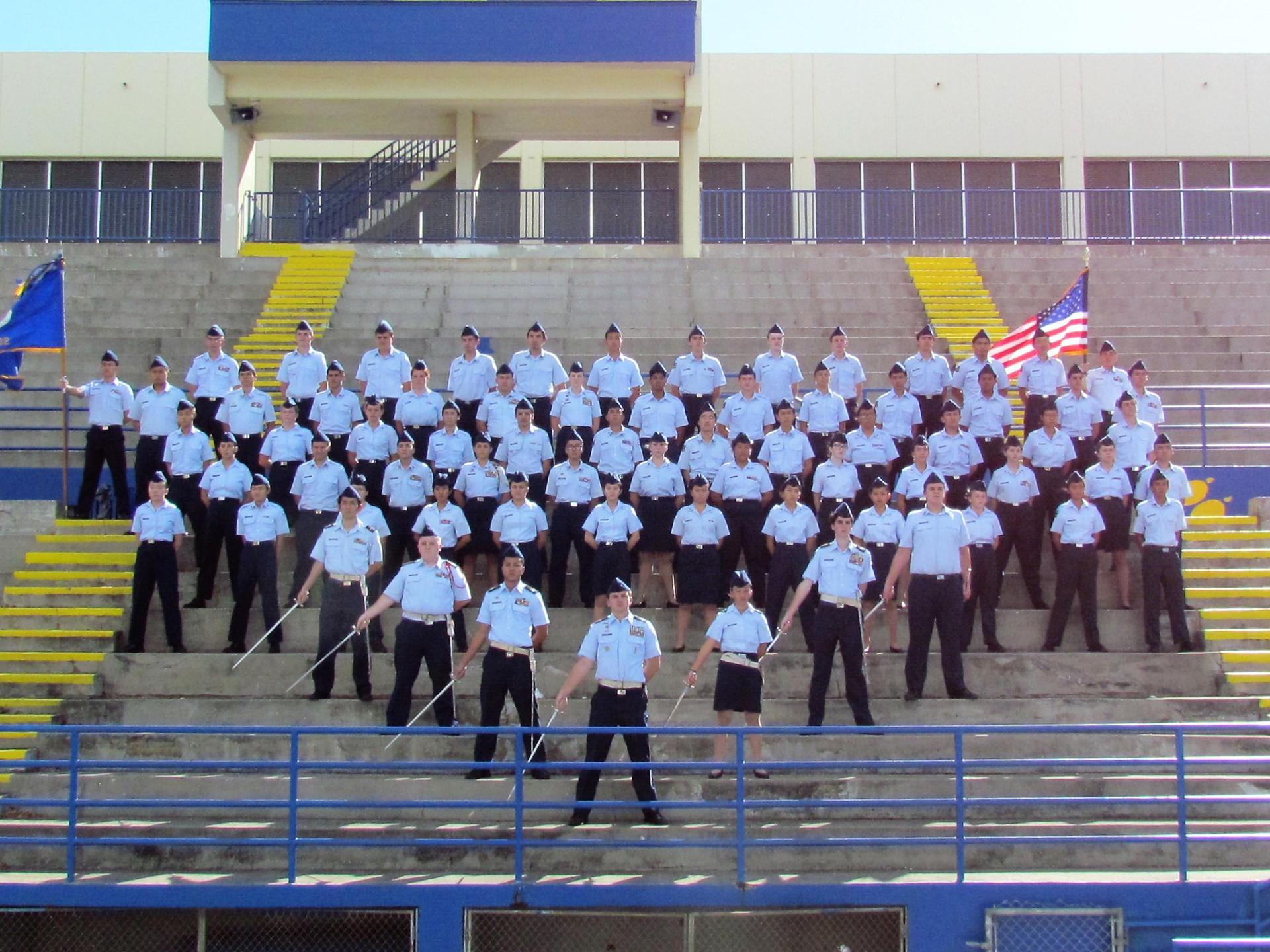 AFJROTC squadron 2018