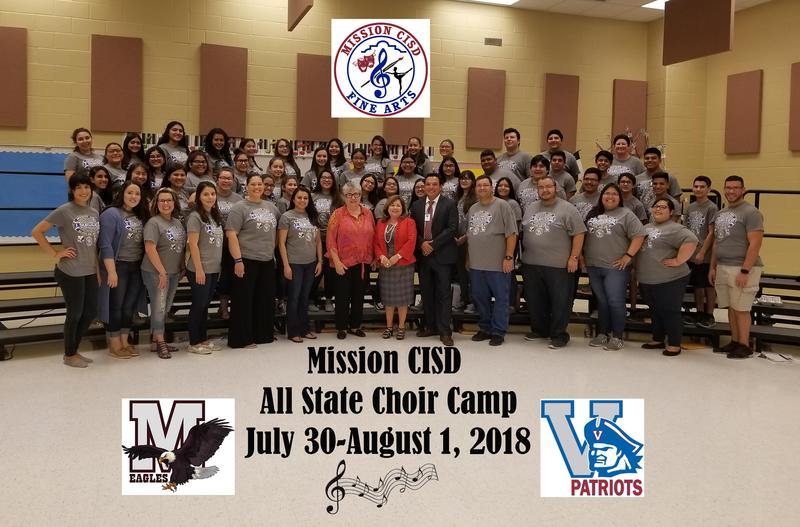 MCISD All State Choir Camp Featured Photo