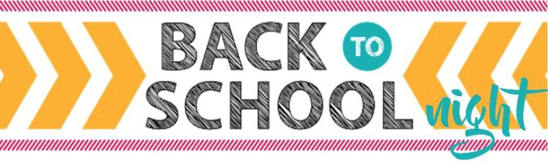 Join Us! Back to School Night 2018 Thumbnail Image