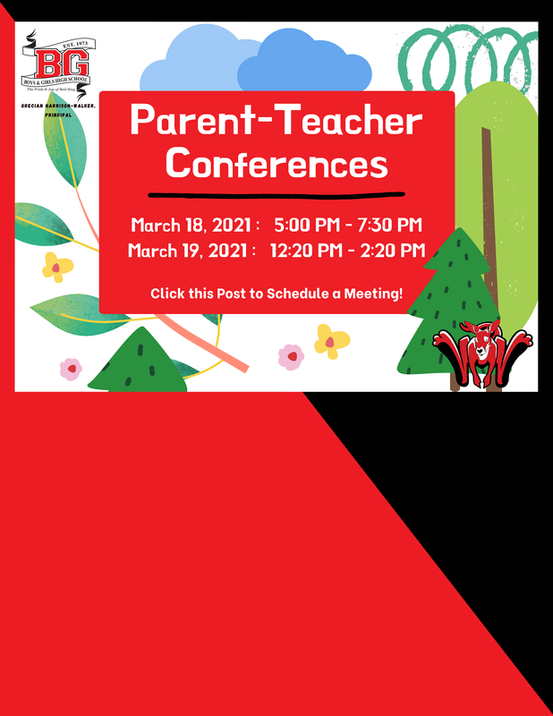 Open School Conferences March 18 and 19 2021