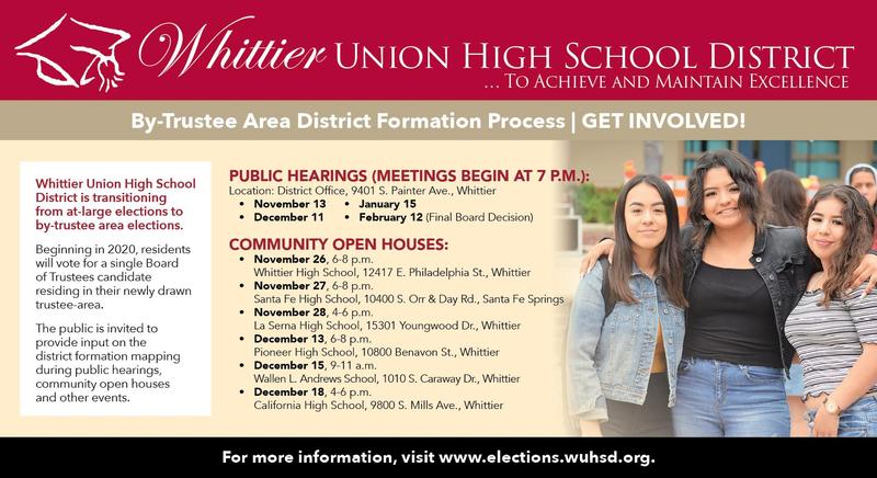WUHSD District Formation Website Featured Photo
