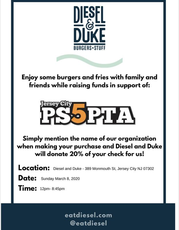 PTA Fundraiser: Diesel and Dukes Featured Photo