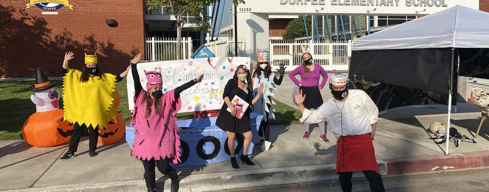 Durfee Halloween Parade