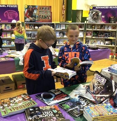 Boys Book Fair