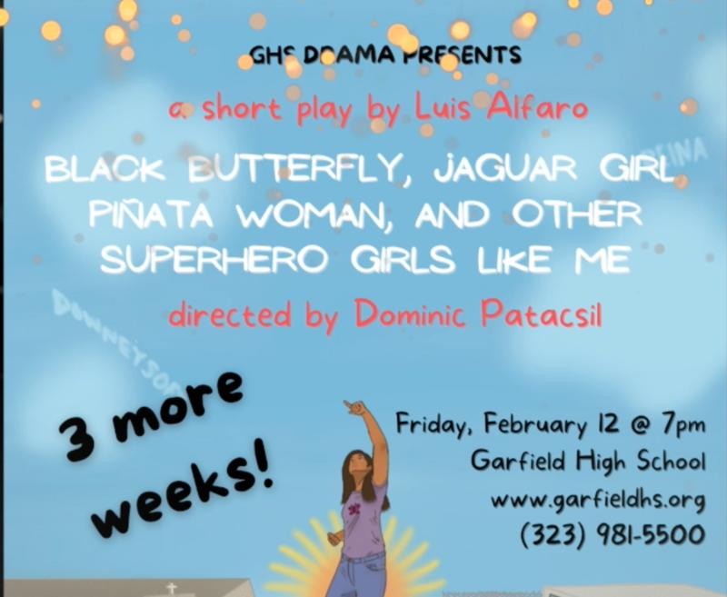 GHS DRAMA PRESENTS a short play by Luis ALfaro