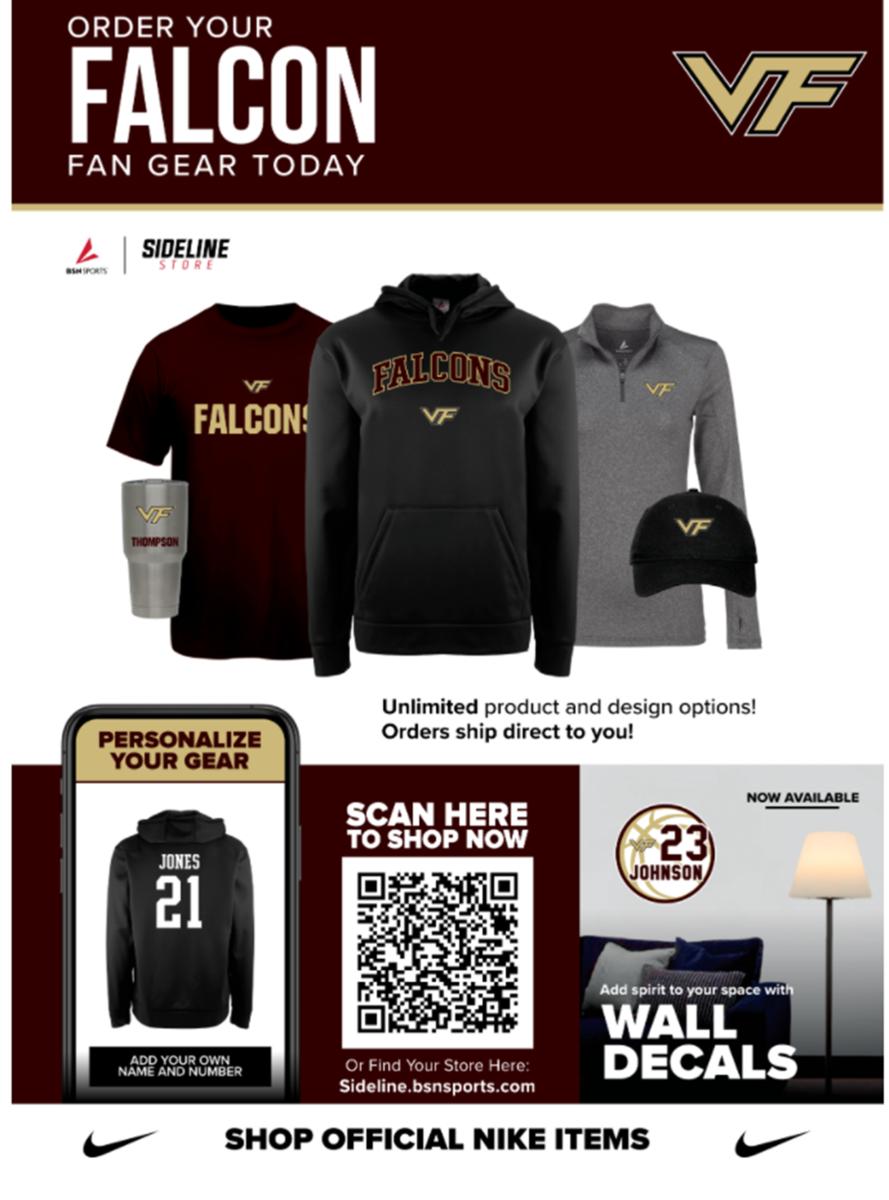 Falcon Fan Gear Online Store