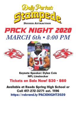 pack night flyer