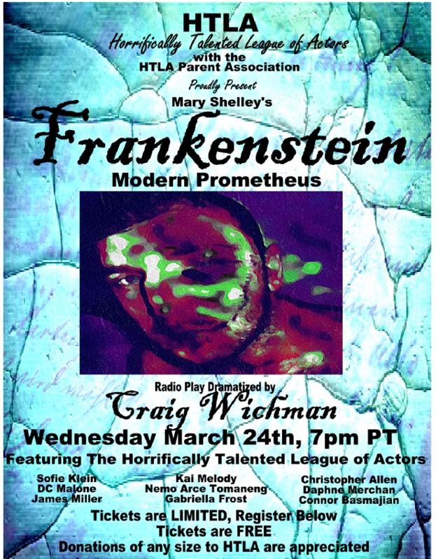 Frankenstein Radio Play